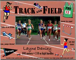 Track and Field frame ©DLE, Inc.