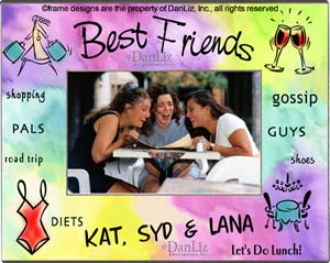 best friends frame dle